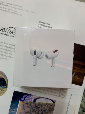 AirPods Pro Apple product sealed box brand new for Sale in Fresno, CA