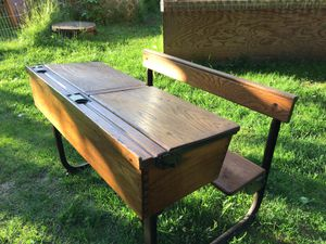 Antique wooden Desk- Great Condition. for Sale in Anchorage, AK