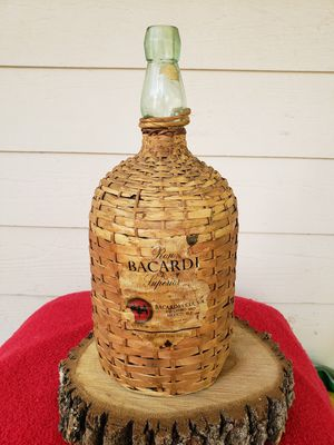 Vintage Ron Bacardi Superior Rum Jug Bottle for Sale in Cedar Creek, TX