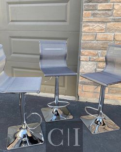 Brand New! $80 Each 3 Gray Mesh Bar Stools for Sale in Orlando,  FL