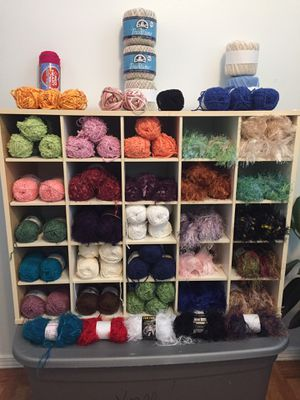 All skeins seen here are approximately 2oz ea. .75 ea or all for best offer! for Sale in Westland, MI