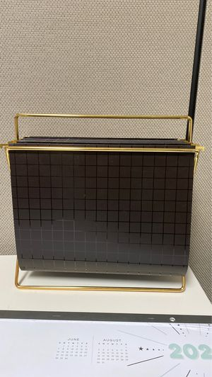 Desk File Holder and Folders for Sale in Grand Prairie, TX