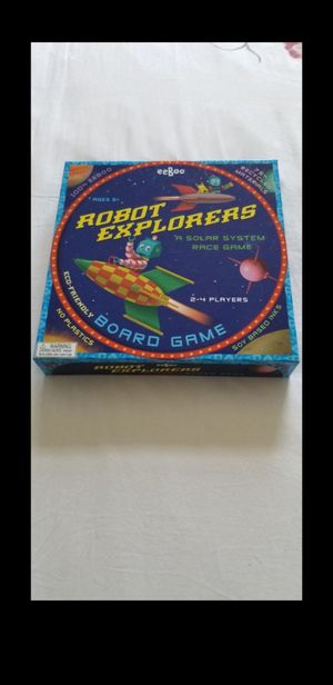 EEBOO ROBOT EXPLORERS BOARD GAME for Sale in Boynton Beach, FL