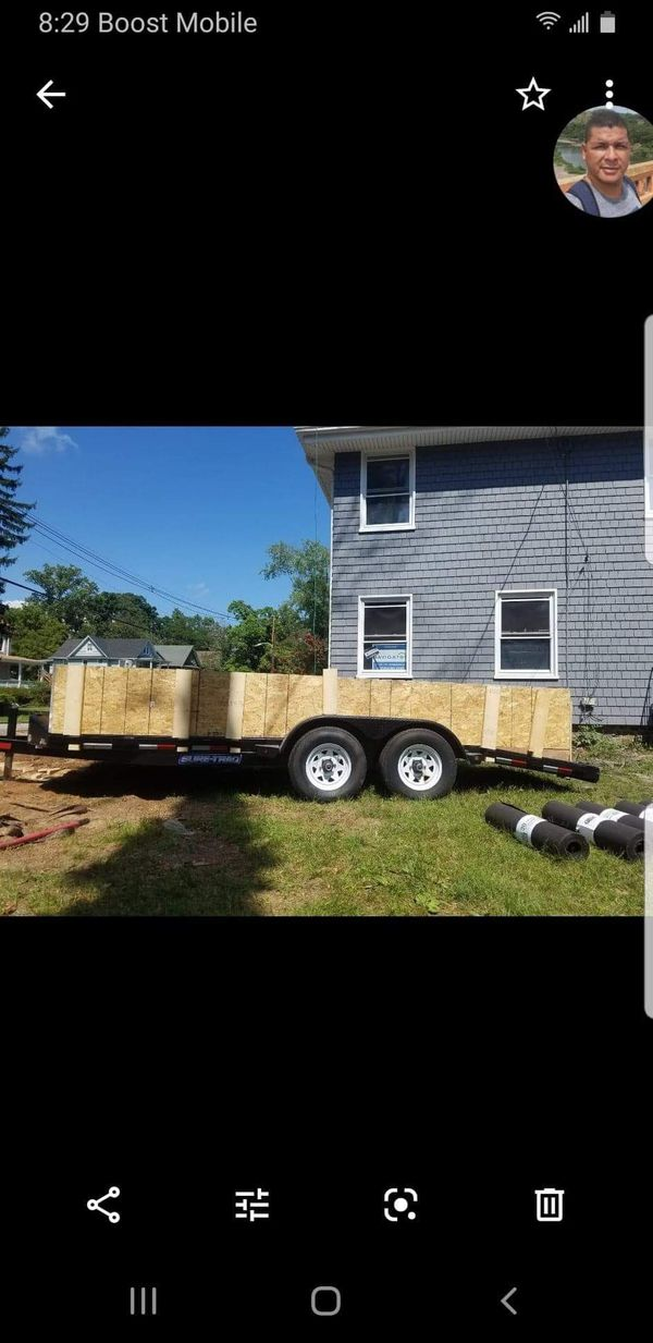 7x18 Carry - On Car Hauler Trailer