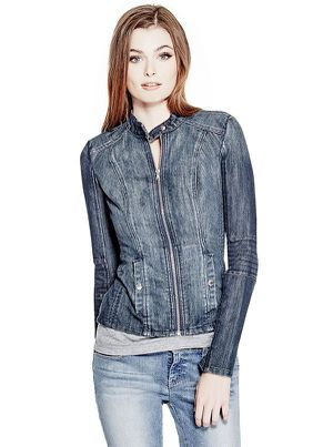 Women Denim Jacket by Guess Brand new with Tags / chaqueta de mezclilla NUEVA for Sale in Fullerton, CA