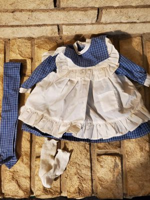 American Girl Doll- Samantha's Play dress and pinafore for Sale in Bridgeview, IL
