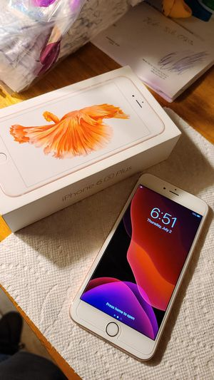 iPhone 6S Plus 128Gs Unlocked for Sale in Dinuba, CA