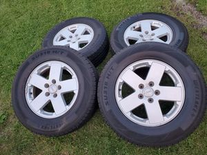 """18"""" Jeep Wrangler Rims Wheels Tires for Sale in Chicago, IL"""