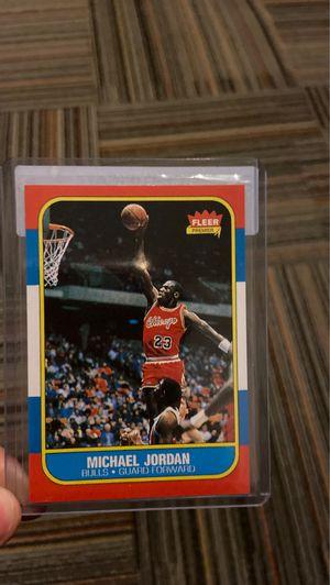 Fleer Michael Jordan Rookie Card 1984-85 for Sale in Fitchburg, MA