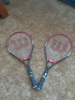 Wilson Tennis Rackets for Sale in Ripon, CA