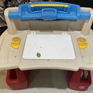 Toddler Desk Comes With Light, Whiteboard, Stationery + Lots Of Extras for Sale in San Dimas, CA