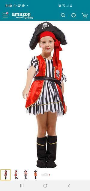 Pirate girl Halloween costume for Sale in Woodbridge Township, NJ