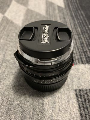 Voigtlander Nokton 40mm f/1.4 Wide Angle Leica M Mount Fixed Lens for Sale in Boston, MA