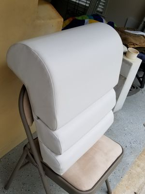 Seat cushions recliner pontoon boat for Sale in McDonough, GA