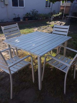 Lawn table with chairs for Sale in Norwalk, CA