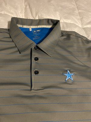 Large Adidas Dallas Cowboys golf shirt for Sale in Denver, CO