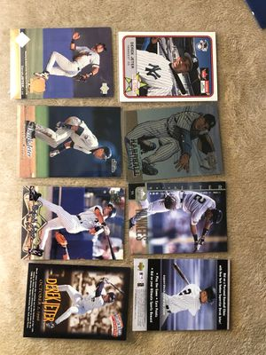 CARDS BASEBALL DEREK JETER ROOKIE CARDS MORE (28 NEW CARDS) for Sale in Downey, CA