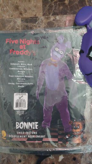 Bonnie child costume size Large for Sale in Chino Hills, CA