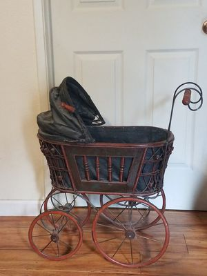 Vintage Doll Stroller Carriage for Sale in Stockton, CA
