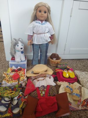 Julie American girl doll bundle (2012) amazon condition for Sale in San Diego, CA