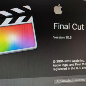 Final Cut Pro - Video Editing for Sale in Glendale, CA