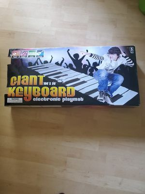 Giant Keyboard Electronic Playmat 100x29 New Condition for Sale in Virginia Beach, VA