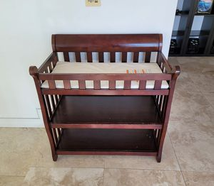 Baby Changing Station with shelves for diapers for Sale in Coronado, CA