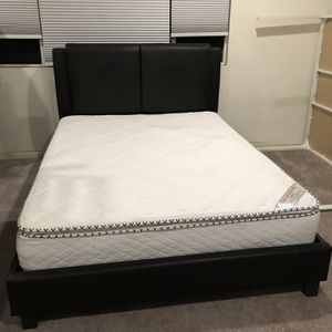 Queen Bed And Mattress for Sale in Ontario, CA