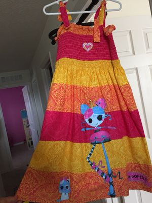 Lalaloopsi dress size6-7 for Sale in Kissimmee, FL