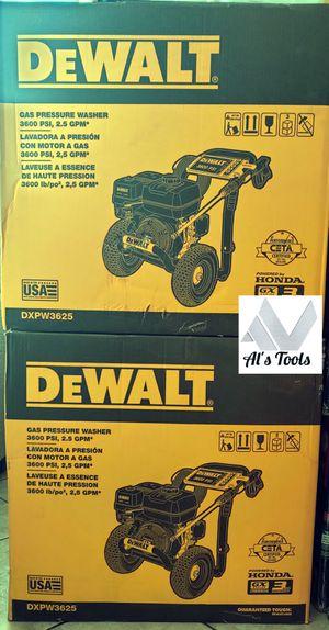 Dewalt 3600 PSI gas pressure Washer with Honda engine for Sale in Paramount, CA