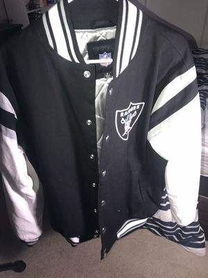 Raiders varsity jacket for Sale in Fontana, CA