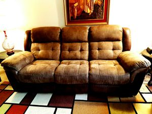 Sofa and loveseat with recliner for Sale in Aspen Hill, MD