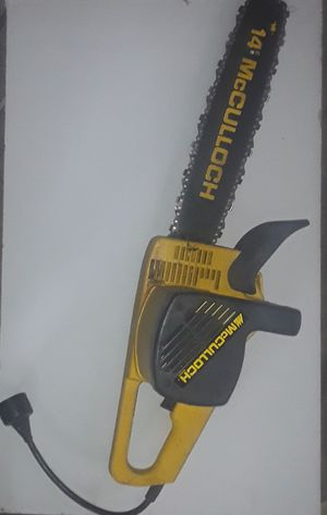 Mccullogh chainsaw for Sale in Columbus, OH