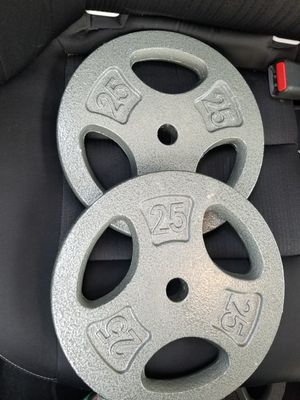 25lb weights for Sale in Madera, CA