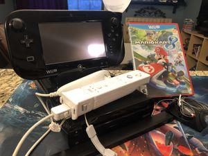 Nintendo Wii U w/ Mario Kart 8 and Motion Plus Controller for Sale in Mesa, AZ