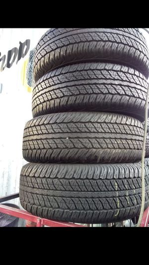 Semi new tires set 265/65/17 for Sale in Los Angeles, CA