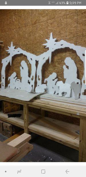 Nativities/ deers/ bigfoots etc. for Sale in Chapel Hill, NC