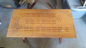 Cribbage coffee table for Sale in Sebring, FL