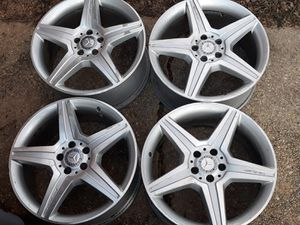 Mercedez AMG rims 20 inch for Sale in Silver Spring, MD