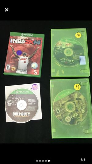 Xbox one games for Sale in Pinellas Park, FL