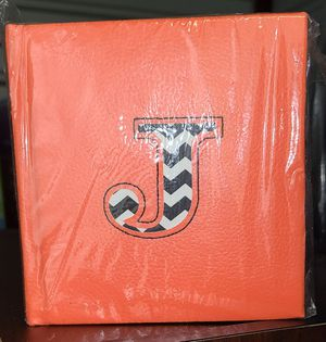 "Initial ""J"" Notepad for Sale in Fresno, TX"