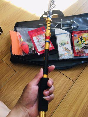 Fishing rod+ reel , bell , bait..., for Sale in Vallejo, CA
