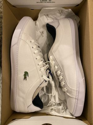 Lacoste men's shoes brand new size 9.5 for Sale in Laurel, MD