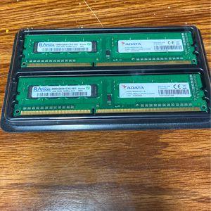 2x4gb (8gb) DDR3 Ram for Sale in Appleton, WI