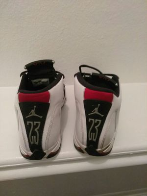 JORDAN RETRO14 Size 9.5 like brand new for Sale in Houston, TX