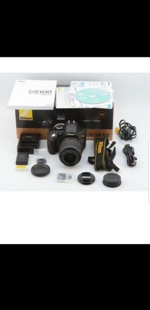 NIKON D5100 18-55 VR KIT BRAND NEW for Sale in McClellan Park, CA