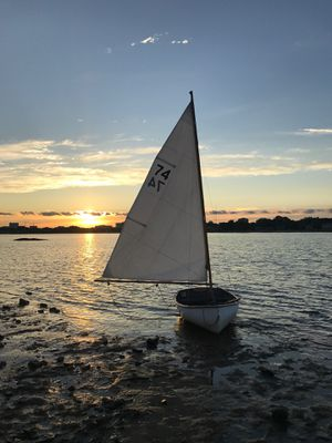 Puffin 8.5 Sailboat and Trailer for Sale in Stamford, CT