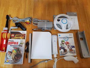 Nintendo Wii Console RVL-001 Mario Kart w/Wheel for Sale in Rock Hill, SC