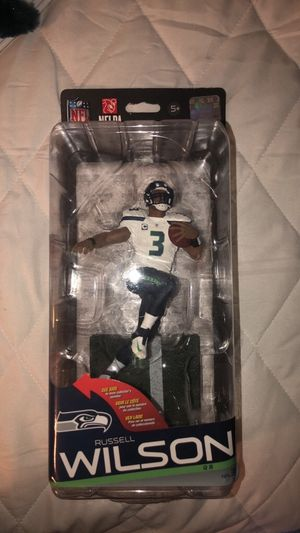 McFarlane Toys Russell Wilson Action Figure for Sale in San Martin, CA