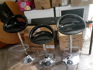 Black stools for Sale in Salt Lake City, UT